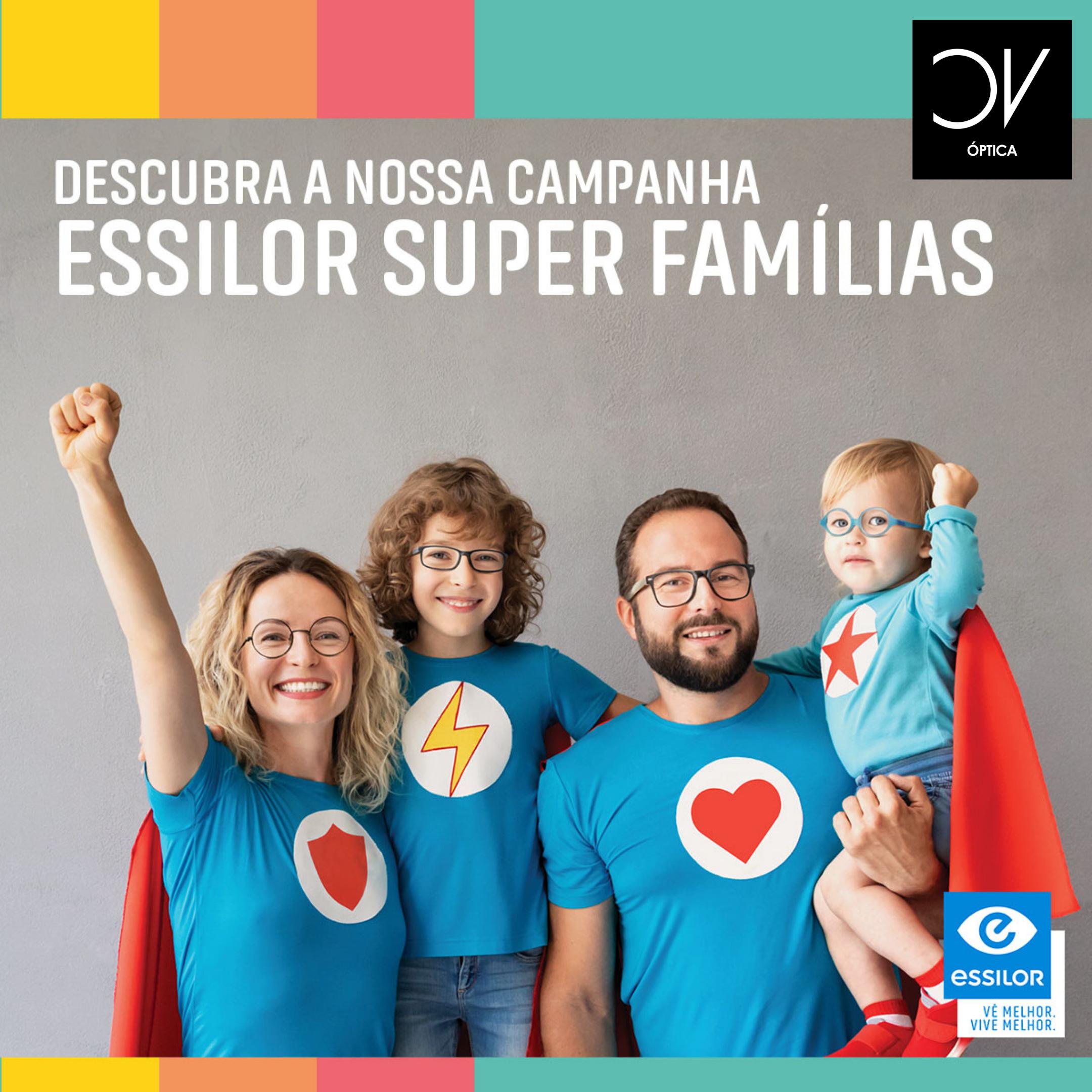 Campanha Essilor Super Família